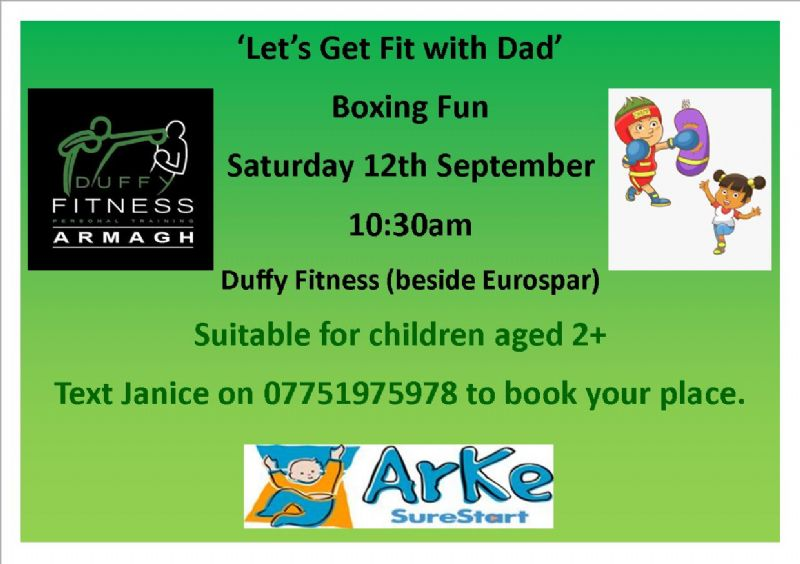 Let's Get Fit with Dad
